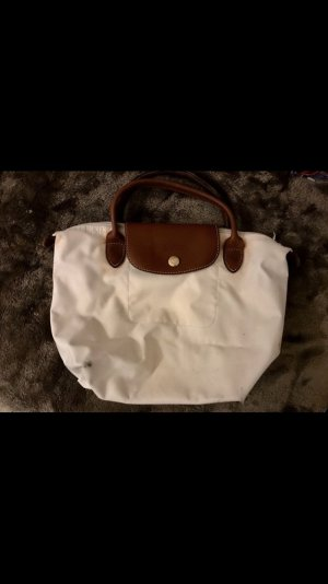 Longchamp Carry Bag white-brown