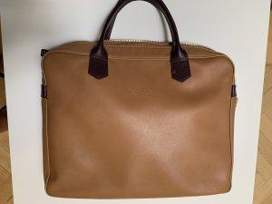 Longchamp Briefcase beige-bordeaux