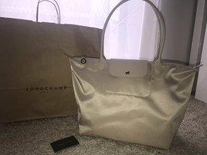 Longchamp Borsa a tracolla beige chiaro-argento