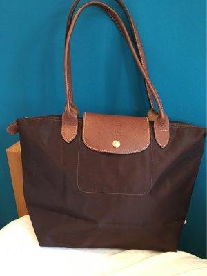 Longchamp Handbag black brown-brown