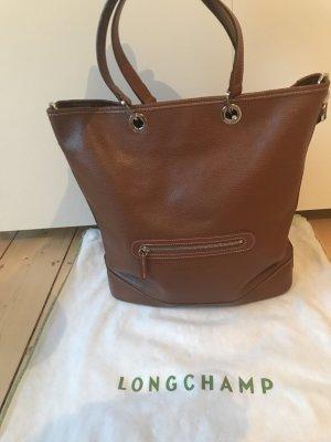 Longchamp Tasche in Cognac neu