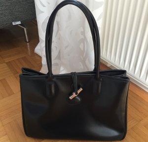 Longchamp Tasche in schwarz