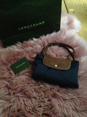 Longchamp Tasche le pliage in Marineblau