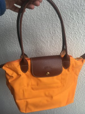 Longchamp Carry Bag light orange-cognac-coloured