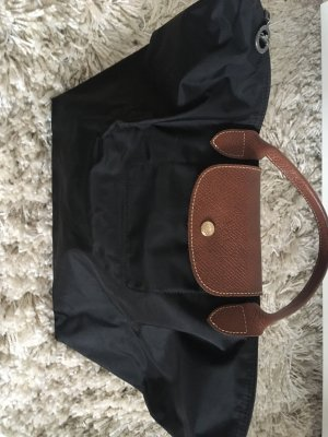 Longchamp Tasche Le Pliage mittlere Größe schwarz