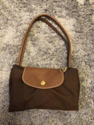 Longchamp Bolsa de hombro marrón oscuro