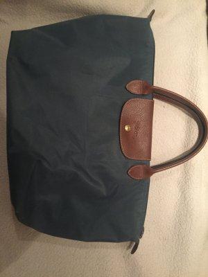 Longchamp Tasche Petrol Mittel