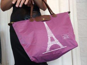Longchamp Tasche, Rue Gustave Eiffel, Rosa