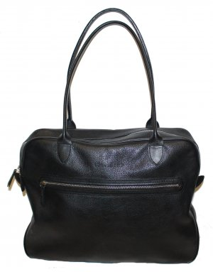 Longchamp Carry Bag black leather