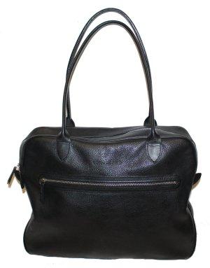 Longchamp Sac Baril noir cuir