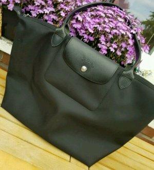 Longchamp Tasche Schwarz Planetes Gr. M