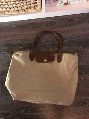 Longchamp Tasche shopper Handtasche beige