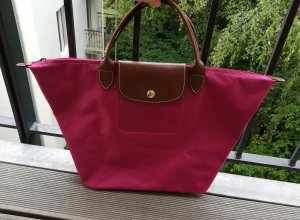 Longchamp Carry Bag raspberry-red-magenta