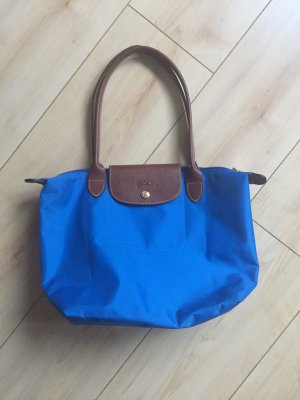 Longchamp Carry Bag blue nylon