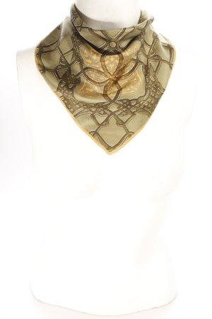 Longchamp Tuch abstraktes Muster klassischer Stil