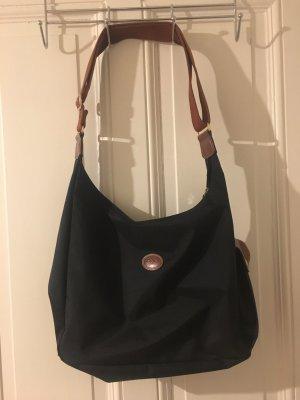 Longchamp Umhängetasche Größe L schwarz