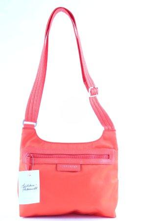 Longchamp Borsa a spalla arancione stile atletico