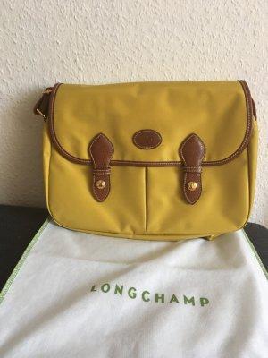 Longchamp Umhängetasche Senfgelb Nagelneu
