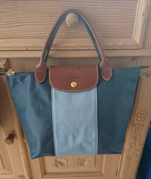 Longchamptasche in blau