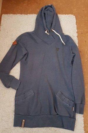 Naketano Sweaterjurk donkerblauw