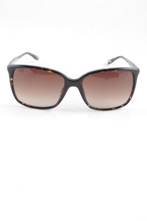Longines eckige Sonnenbrille braun-dunkelbraun Farbverlauf Elegant