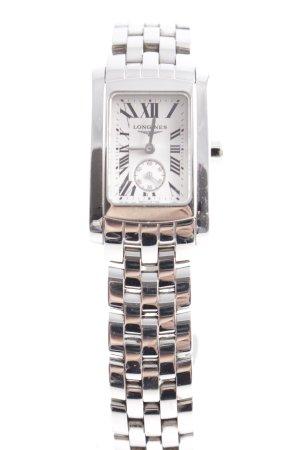 Longines Montre avec bracelet métallique argenté élégant