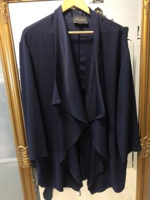 Italy Blouse Jacket blue polyamide