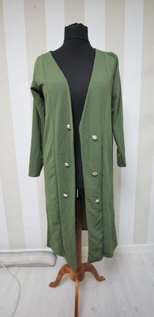 Abrigo largo color oro