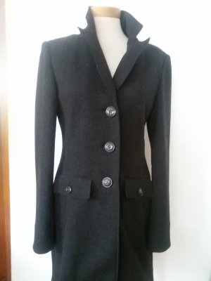 Long Jacket anthracite mixture fibre