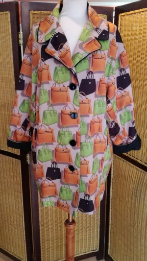 Made in Italy Veste oversize multicolore polyester
