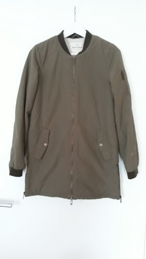 Review Blouson ocre nylon