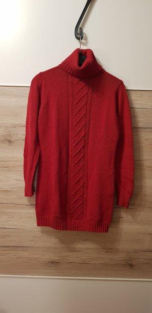 Esmara Long Sweater dark red