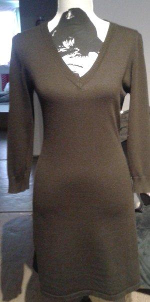 Longpulli-Kleid, braun Gr.M