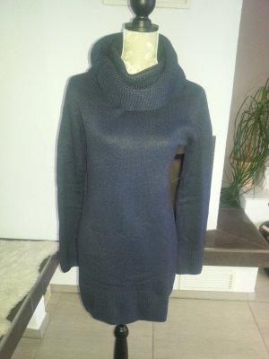 Longpulli / Kleid dunkelblau von H&M Gr. M