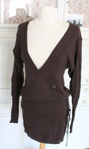 Longpulli / Kleid mit Kaschmir von Oui Set, Gr. M, Feinstrick