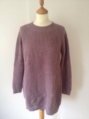Promod Long Sweater grey lilac polyamide