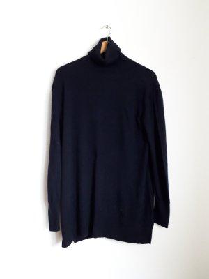 Pedro del Hierro Turtleneck Sweater dark blue