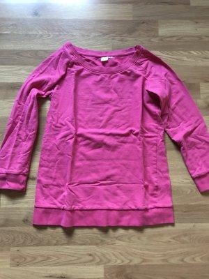 Maglione lungo rosa