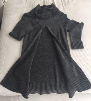 Looxent Pull long gris foncé tissu mixte