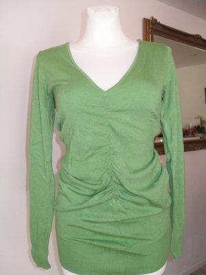 Expresso Long Sweater grass green