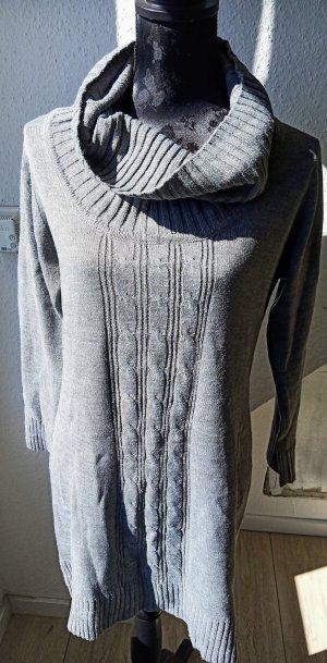 Canda Robe pull gris clair-gris