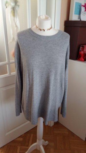 H&M Pull gris clair