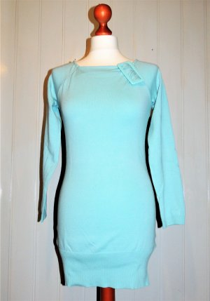 Melrose Long Sweater baby blue mixture fibre