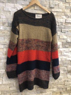 Blend Pullover a maglia grossa multicolore