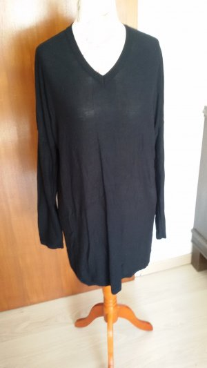 Blue Motion Long Sweater black viscose