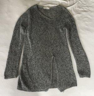 Dibari Jersey largo color plata-gris