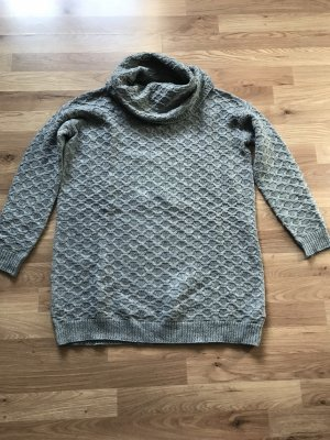 H&M Long Sweater grey-dark grey