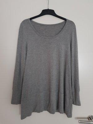 Camicia lunga grigio