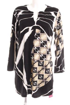 Long Shirt abstract pattern elegant