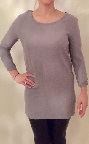 American Vintage Robe à manches longues argenté-gris clair